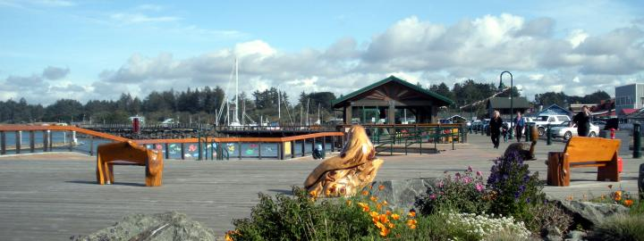 Bandon's Boardwalk
