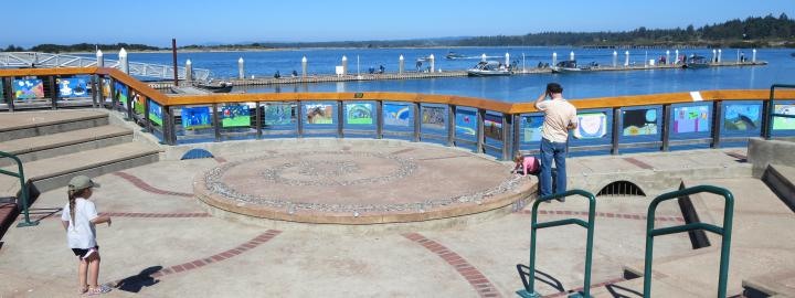 Amphitheater on the Boardwalk
